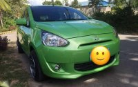 RUSH 300k 2014 Mitsubishi Mirage gls top of the line