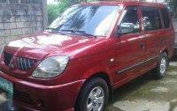 Mitsubishi Adventure Glx 2008 Red For Sale