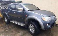 Mitsubishi strada gls 2007 4x4 Gray For Sale