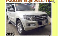 2015 Mitsubishi Pajero Diesel Manual for sale
