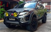 2nd Hand Mitsubishi Strada 2015 Automatic Diesel for sale in Mandaluyong