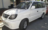 White Mitsubishi Adventure 2016 Manual Diesel for sale Manila