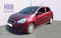 Sell Red 2018 Mitsubishi Mirage Manual Gasoline at 10734 km in Muntinlupa