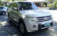 White Mitsubishi Pajero 2011 at 78000 km for sale