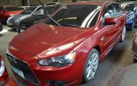 Red Mitsubishi Lancer Ex 2013 for sale in Makati