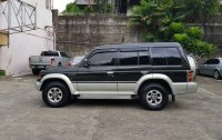 Selling Black Mitsubishi Pajero 1995 Manual Diesel in Quezon City