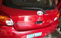 2nd Hand Mitsubishi Mirage 2013 Hatchback Manual Gasoline for sale in Marilao