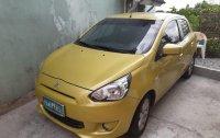 Selling Mitsubishi Mirage 2013 Hatchback Automatic Gasoline in Pasig