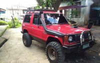 Mitsubishi Pajero 1990 Manual Diesel for sale in Malvar