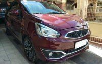 Selling Mitsubishi Mirage 2016 Manual Gasoline in Paniqui