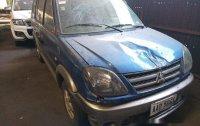 Selling Blue Mitsubishi Adventure 2016 at 59000 km in Makati