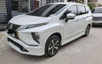 Pearlwhite Mitsubishi Xpander 2019 at 6000 km for sale