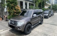 Brown Mitsubishi Pajero 2012 Automatic Diesel for sale