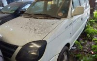 Selling White Mitsubishi Adventure 2015 at 102000 km