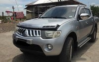Silver Mitsubishi Strada 2007 at 98000 km for sale