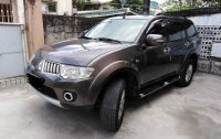 Sell Brown 2012 Mitsubishi Montero Sport at 83000 km