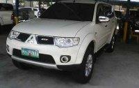 Selling White Mitsubishi Montero Sport 2013 Automatic Diesel