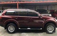 Red Mitsubishi Montero Sport 2013 at 54000 km for sale