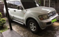 White Mitsubishi Shogun 1999 for sale in Quezon City
