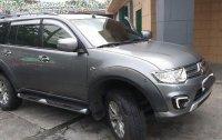 Grey Mitsubishi Montero Sport 2015 Manual Diesel for sale