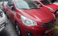 Red Mitsubishi Mirage G4 2018 at 10000 km for sale