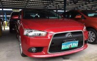 Red Mitsubishi Lancer Ex 2013 at 50000 km for sale