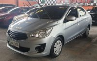 Selling Silver Mitsubishi Mirage G4 2014 at 35807 km