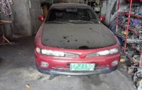 Red Mitsubishi Galant 1994 at 100000 km for sale