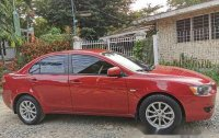 Sell Red 2010 Mitsubishi Lancer Ex Automatic Gasoline at 77000 km