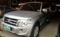 Silver Mitsubishi Pajero 2012 for sale in Pasig