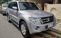 Silver Mitsubishi Pajero 2014 Automatic Diesel for sale