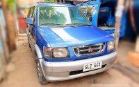 Blue Mitsubishi Adventure 2001 for sale