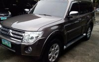 Brown Mitsubishi Pajero 2011 Automatic Diesel for sale