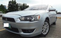 Silver Mitsubishi Lancer Ex 2010 for sale in Quezon City