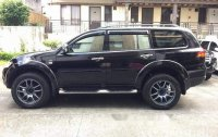 Selling Black Mitsubishi Montero Sport 2013 Automatic Diesel