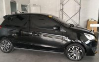 Selling Black Mitsubishi Mirage 2016 Automatic Gasoline in Bacoor