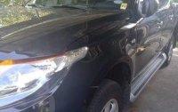 Selling Black Mitsubishi Strada 2018 Manual Diesel at 2043 km