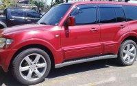 Red Mitsubishi Pajero 2006 at 55000 km for sale