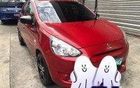 Sell Red 2013 Mitsubishi Mirage at 46864 km