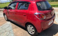 Red Mitsubishi Mirage 2016 for sale in Talisay