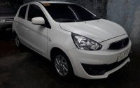 White Mitsubishi Mirage 2016 for sale in Manila