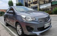 Selling Grey Mitsubishi Mirage G4 2018 Automatic Gasoline at 8000 km