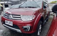 Sell Red 2015 Mitsubishi Montero sport in Quezon City