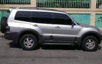 Silver Mitsubishi Pajero 2002 for sale in Quezon City