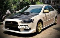 White Mitsubishi Lancer ex 2008 Manual Gasoline for sale