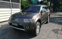 Sell Brown 2012 Mitsubishi Montero sport in Quezon City