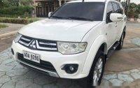 White Mitsubishi Montero Sport 2015 Manual Diesel for sale
