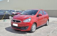 Red Mitsubishi Mirage G4 2018 Automatic Gasoline for sale