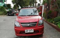 Selling Red Mitsubishi Adventure 2014 Manual Diesel at 32000 km