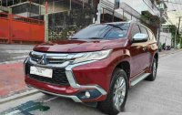 Selling Red Mitsubishi Montero Sport 2016 Manual Diesel at 33000 km